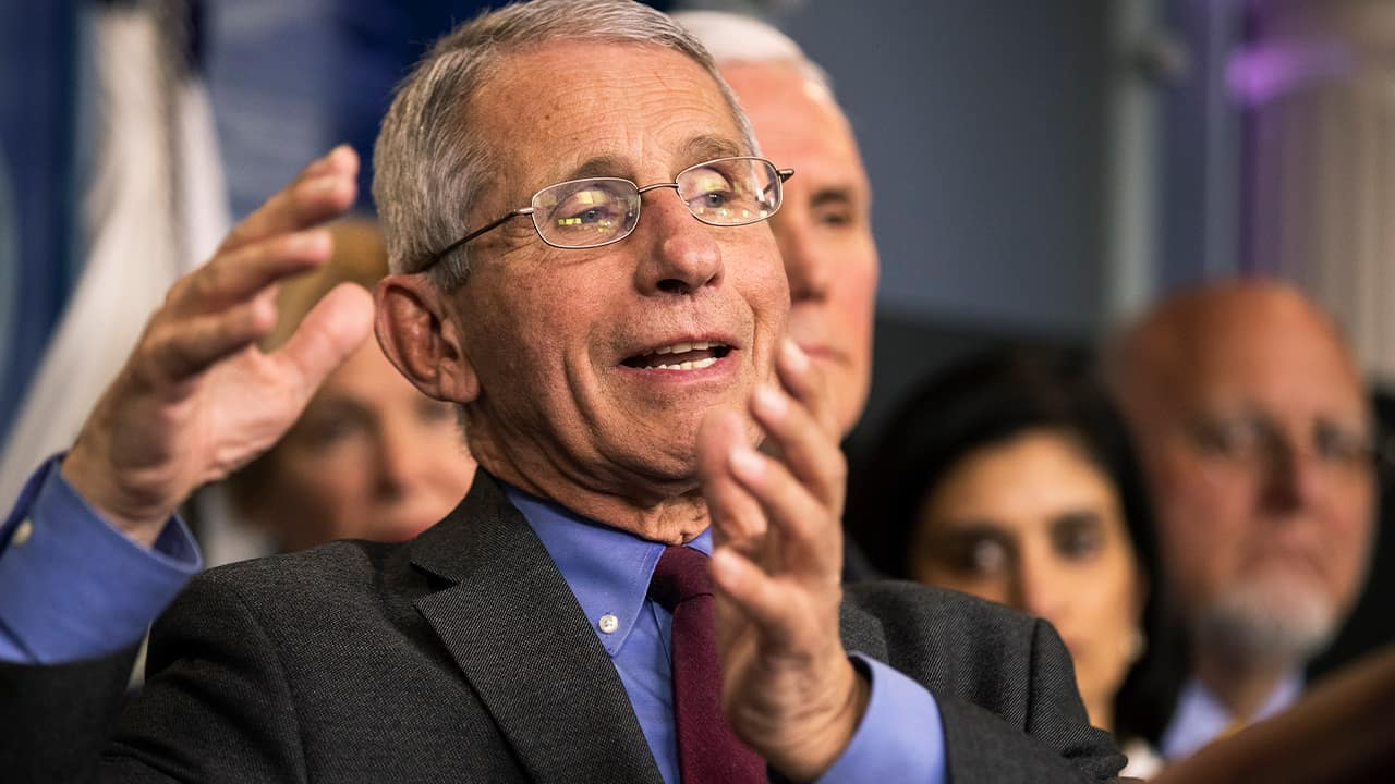 Photo of Director of the National Institute of Allergy and Infectious Diseases at the National Institutes of Health Anthony Fauci