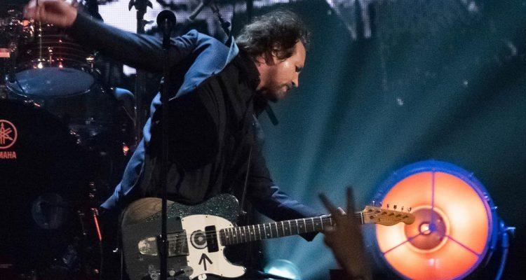 Photo of Pearl Jam's Eddie Vedder
