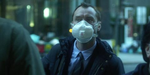 "Photo of Jude Law in ""Contagion"""