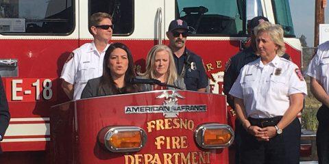 Photo of Fresno City Councilwoman Esmeralda Soria speaking