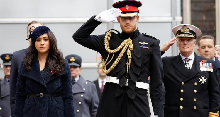 Photo of Britain's Prince Harry and Meghan, the Duchess of Sussex