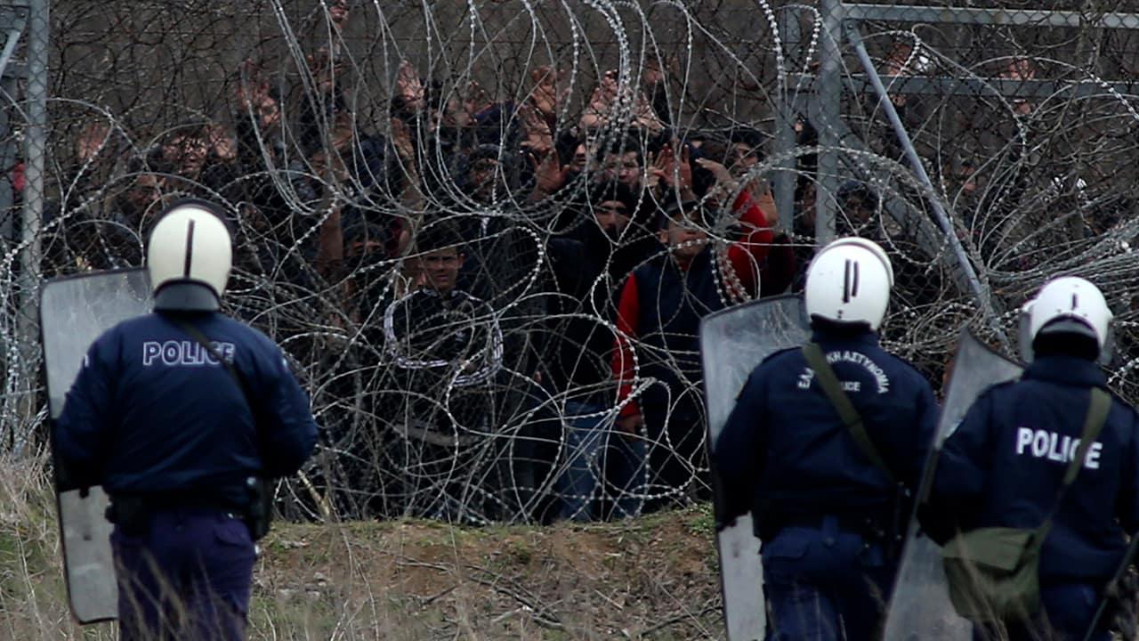 Photo of Greek riot police