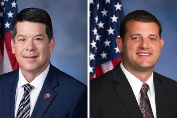Photo combination of Rep. Tj Cox and David Valadao