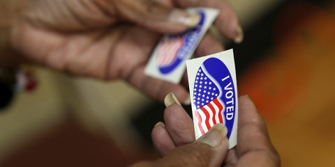 Photo of I Voted stickers