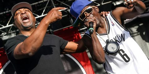 Photo of Chuck D and Flavor Flav