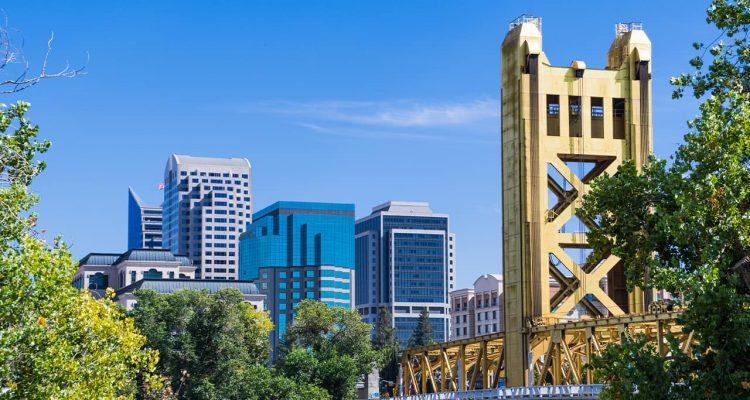 Photo of Sacramento skyline