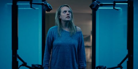 "Photo of Elisabeth Moss in a scene from ""The Invisible Man."""
