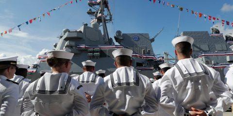 Photo of U.S. Navy sailors