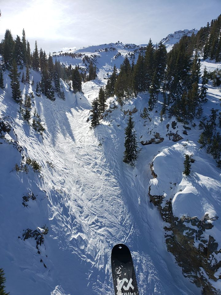 Photo of Mammoth Mountain snow run