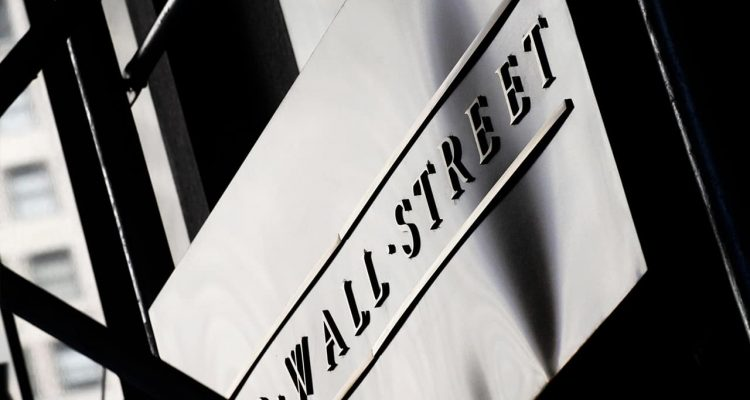 Photo of a sign for Wall Street