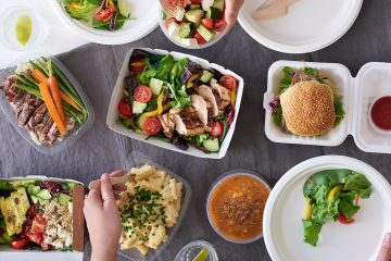 Photo of takeout food