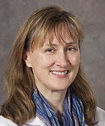 Portrait of UC Davis Health professor Angela Haczku, M.D., Ph.D.