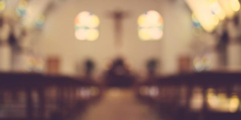 Photo of the inside of a church