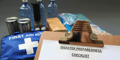Photo of a disaster kit