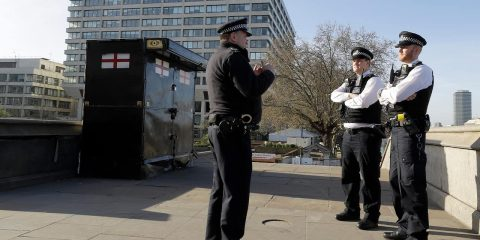Photo fo London police officers