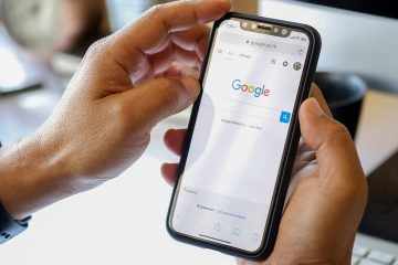 Photo of Google shown on an iPhone