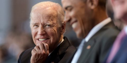 Photo of Joe Biden and Barack Obama