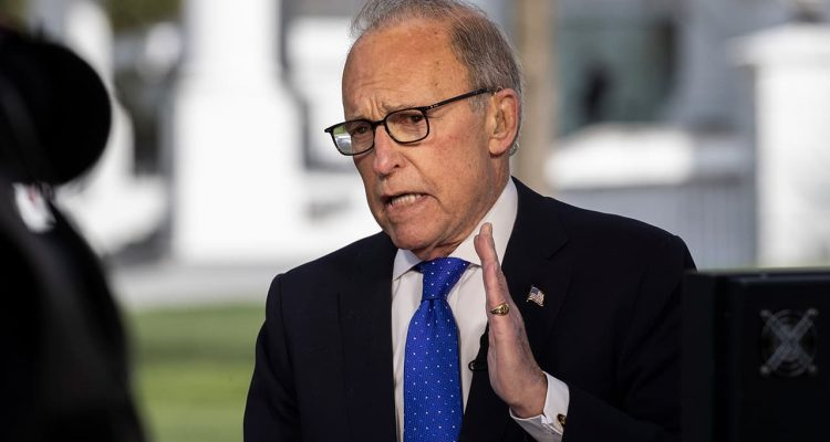 Photo of White House chief economic adviser Larry Kudlow