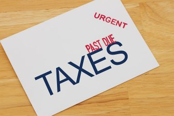 Photo illustration of a late tax noticeI