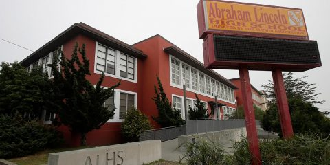 Photo of Abraham Lincoln High School in San Francisco