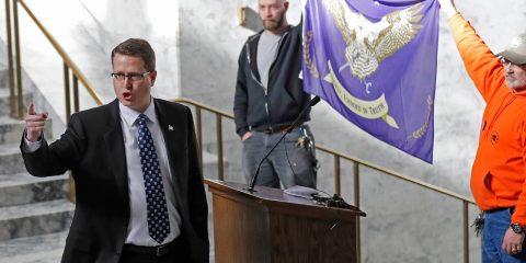 Photo of Washington state Rep. Matt Shea, R-Spokane Valley