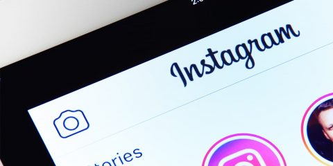 Image of Instagram app on a smartphone