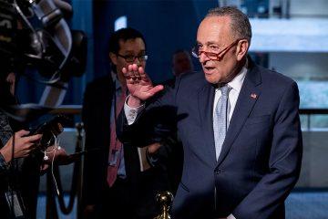 Photo of Senate Minority Leader Sen. Chuck Schumer