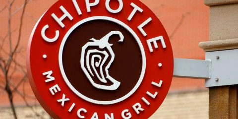 Photo of a Chipotle sign