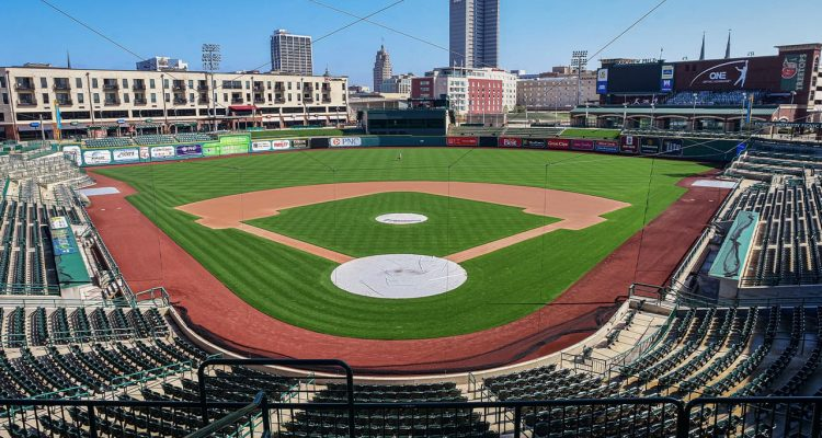 Photo of an empty Parkview Field