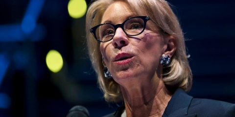 Photo of Education Secretary Betsy DeVos