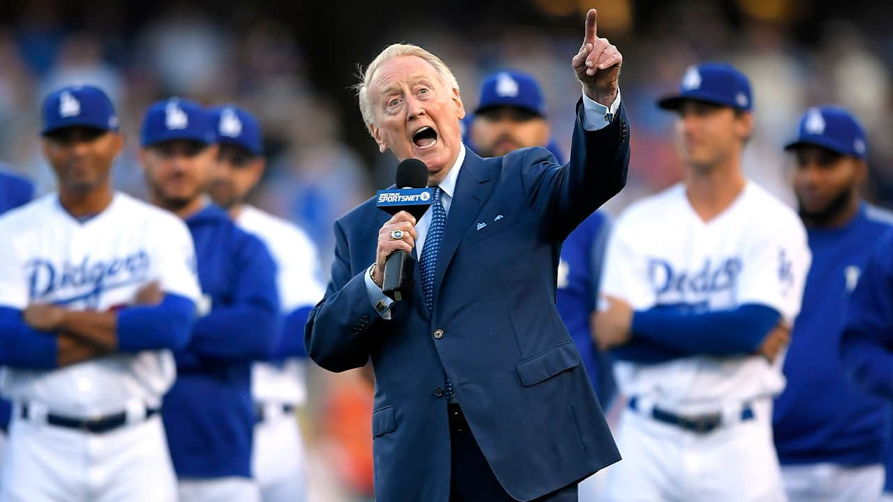 Photo of Vin Scully