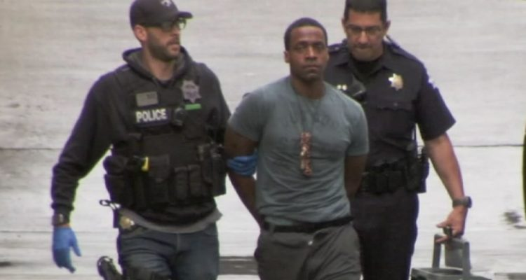 Photo of Kori Ali Muhammad at the time of his arrest
