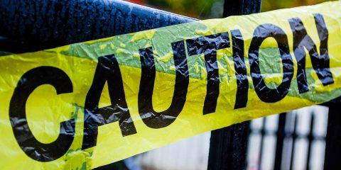 Photo of caution tape