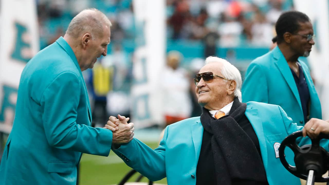 Photo of Don Shula in 2019