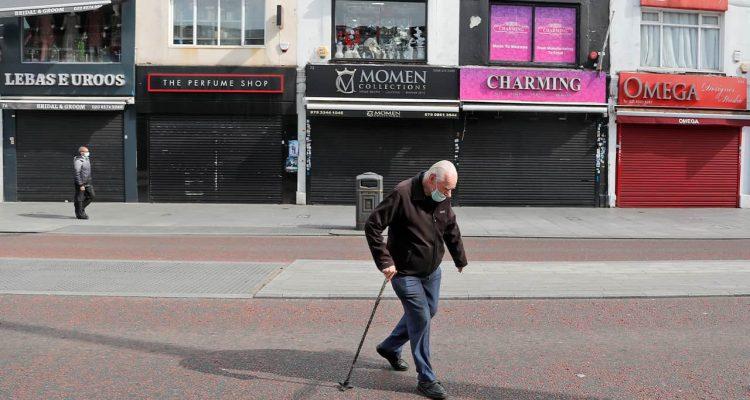 Photo of pedestrians in London