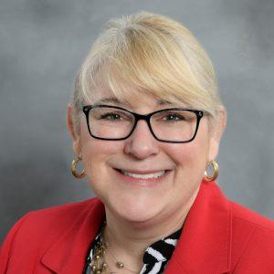 Portrait of Cheryl Sullivan, vice chancellor at State Center Community College District