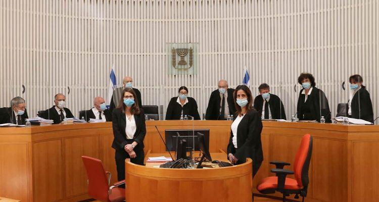 Photo of Israeli Supreme Court judges