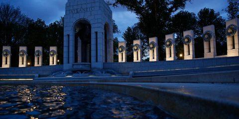 Photo of the World War II Memorial in Washington