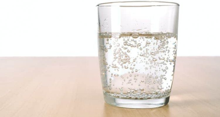 Photo of carbonated water