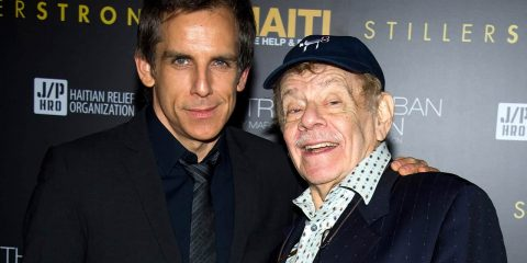 Photo of Ben and Jerry Stiller in 2011