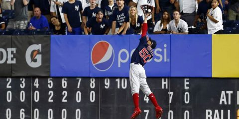 Photo of Boston Red Sox right fielder Mookie Betts