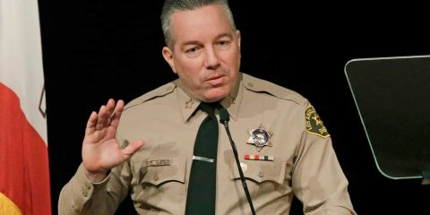 Photo of Los Angeles County Sheriff Alex Villanueva