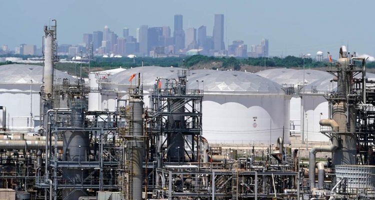 Photo of storage tanks in Houston
