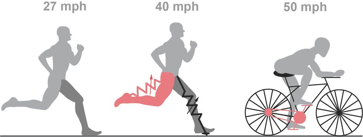 Photo of a running diagram