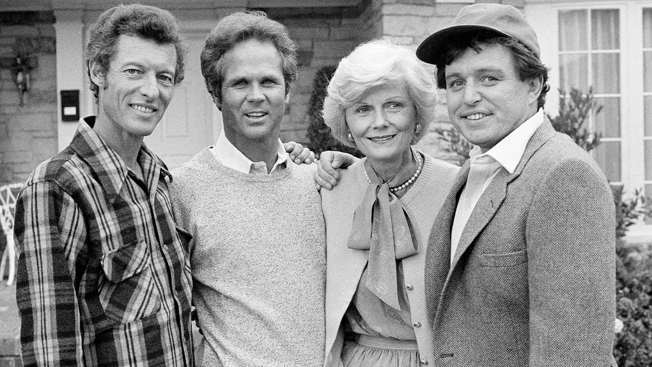 "Photo of the original cast of the ""Leave It To Beaver"""