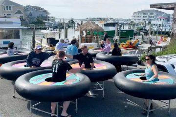 Photo of bumper tables in Ocean City