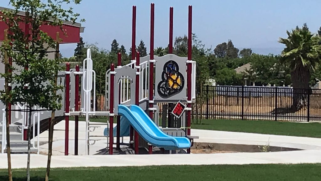 photo of playground at Janet L. Young Elementary School