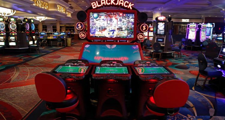 Photo of a blackjack game