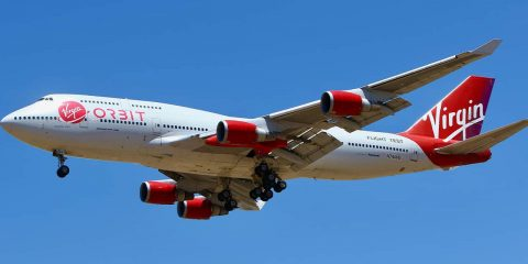 Photo of a Virgin Orbit