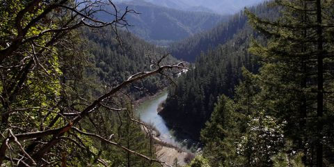 Photo of the Klamath River